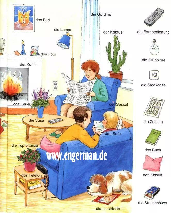17 best images about aleman aprendiendo on pinterest for Wohnung dekorieren lernen