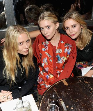 9 Celebrity Siblings Who Make Us Want To Have a Brother or Sister - Mary-Kate, Ashley, and Elizabeth Olsen from #InStyle