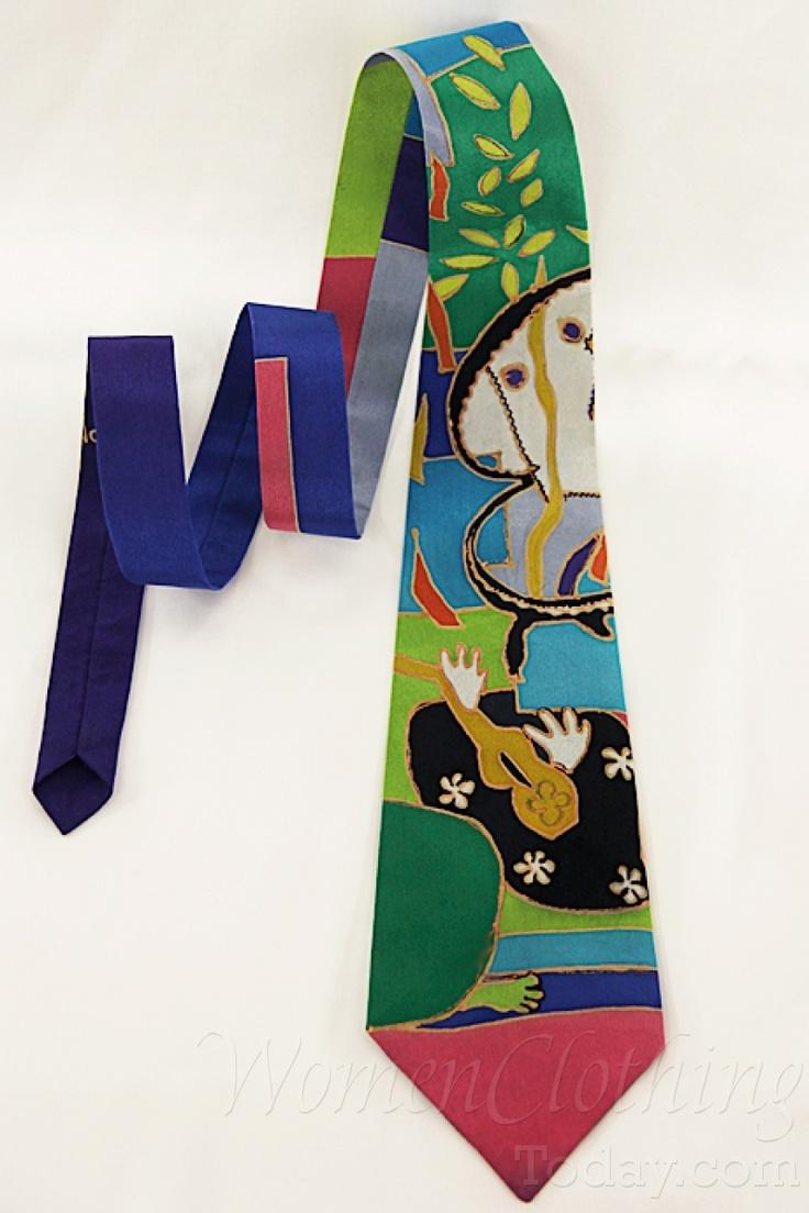 womenclothingtoday.com Silk Tie Henri Matisse