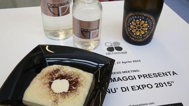 """A ottobre e novembre con i """"Menù di Expo 2015"""", Alti Formaggi e Unione Italiana Ristoratori si uniscono per promuovere tre formaggi lombardi Dop"""