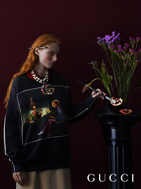 f4836d05 Ignasi Monreal Meets Gucci | W16-2018-Bekleidung | Fashion, Gucci 2018,  Gucci campaign