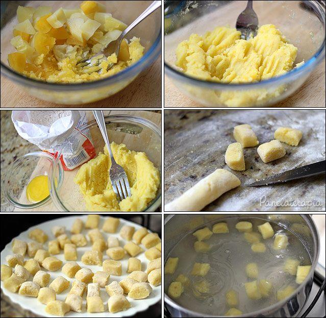 PANELATERAPIA - Blog de Culinária, Gastronomia e Receitas: Nhoque de Mandioquinha