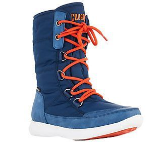 Cougar Waterproof Mid Shaft Nylon Boots - Wagu