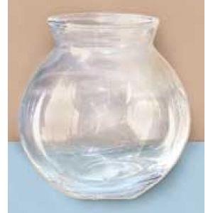 "Basic 4"" Glass Fish Bowl"