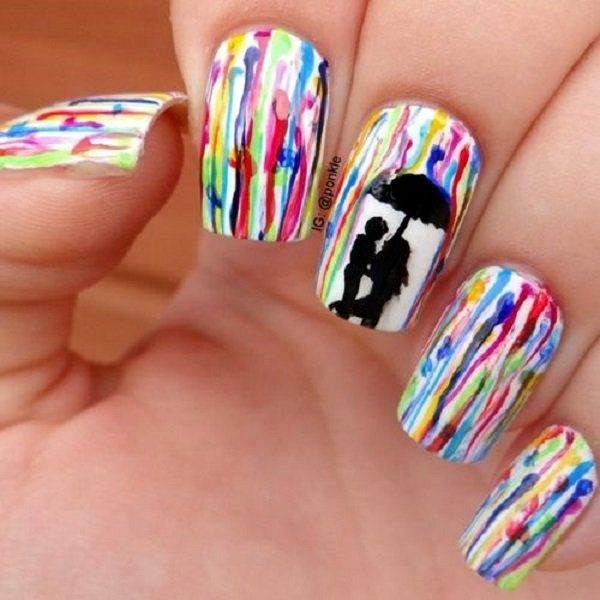 38 best images about summer nails on Pinterest | Nail art, Flamingo ...