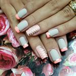 @flavia_usa  #french  #nude  #unhas #instanails #lucinhabarteli #supervaidosa #manicure #inlove #morgantaylor #filhaunica #vegas_nay #maisvoce