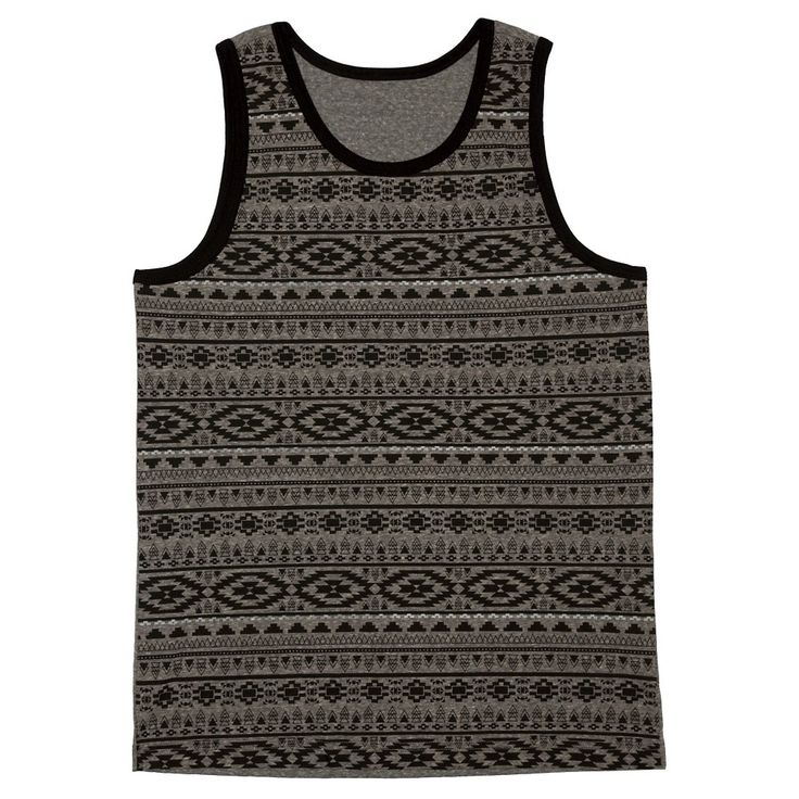 Men's Tank Top Charcoal (Grey) Xxl - Mossimo Supply Co.