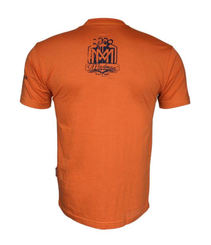 Koszulka 'Logo' pomarańczowa - tył ---> Streetwear shop: odzież uliczna, kibicowska i patriotyczna / Przepnij Pina!