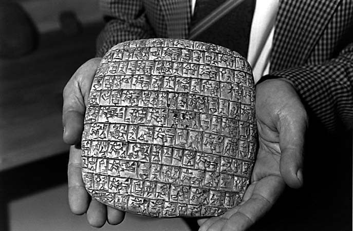 CRITICS OF BIBLE SILENCED ONCE AGAIN. ARCHAEOLOGICAL DISCOVERIES PROVE OLD TESTAMENT TO BE ACCURATE - The Ebla tablets prove Bible right