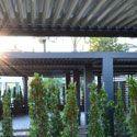 Masterkool España - Pérgolas de lamas de aluminio Biossun®. Restaurante en Marbella