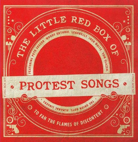 The Little Red Box of Protest Songs [CD]