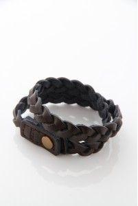 Wrap around leather bracelet for him M10BB