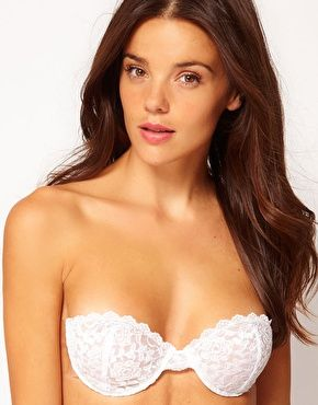 Fashion Forms Lace Backless Strapless Bra