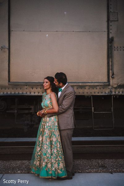 Sweetest indian bride and groom photo shoot. http://www.maharaniweddings.com/gallery/photo/104110