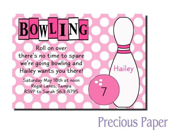 Best 25+ Bowling birthday invitations ideas on Pinterest Bowling - bowling invitation