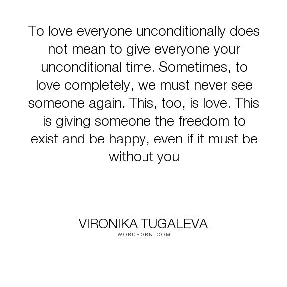 what does the word unconditional mean