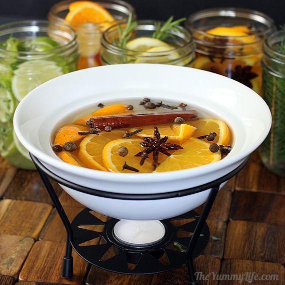 Con ingredientes muy naturales podrás conseguir un aroma agradable para tu hogar. No te pierdas este consejo.