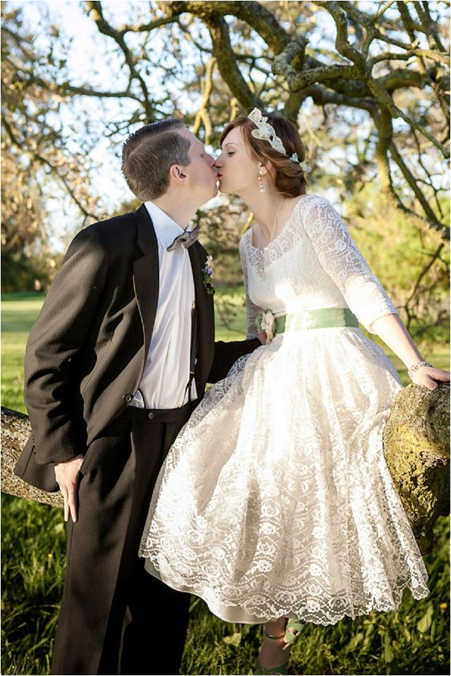 Vintage Styled Wedding 1940s Inspired