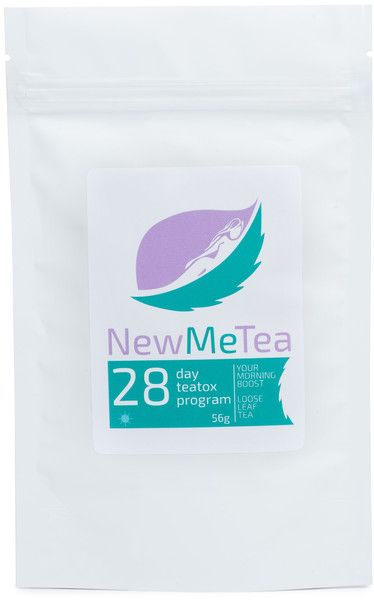 NewMeTea Morning Boost - 28 Day Teatox. Get yours at newmetea.net/products