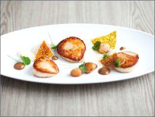 Le Champignon Sauvage cuisine