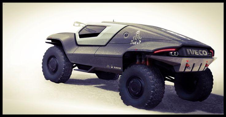 #concept #conceptcar #racecar #racetruk #design #cardesign #desert #parisdakar