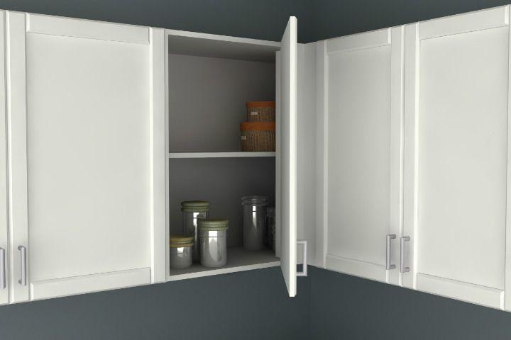 Ikea Kitchen A Blind Corner Wall, Ikea Wall Cabinet