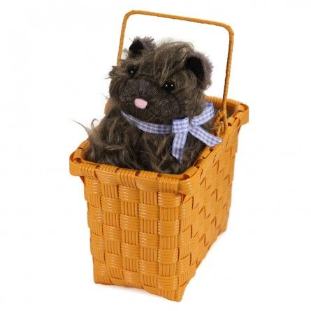 Wizard of OZ Toto Dog & Basket