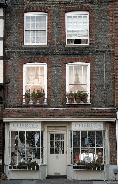 Cobbles | Portsmouth, England. No longer a shop, back to being a private house on Broad Street.