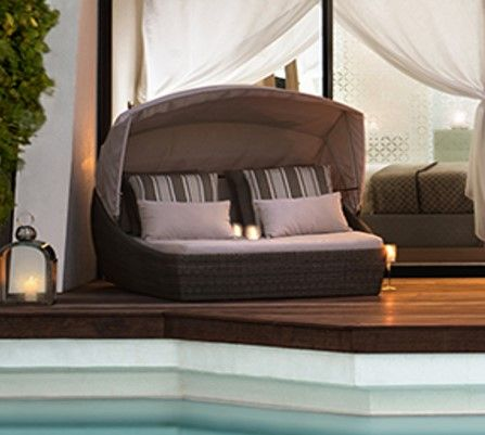 Outdoor-furniture-daybed-Satara & 30 best Outdoor Daybeds and Sun Loungers from Satara images on ...