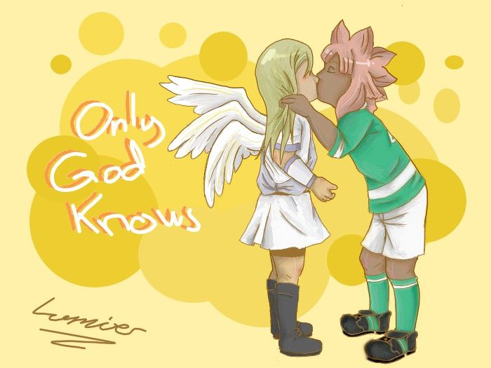 Kiss from the angel by Lumier-san.deviantart.com on @DeviantArt