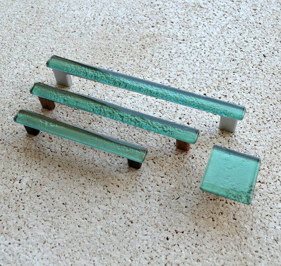 Modern Mint Green Fused Glass Pull Mint Green Glass Pull Mint Green Cabinet Handle Mint Green Fused Glass Cabinet Pull 0002 Fused Glass Gorgeous Furniture Cleaning Glass
