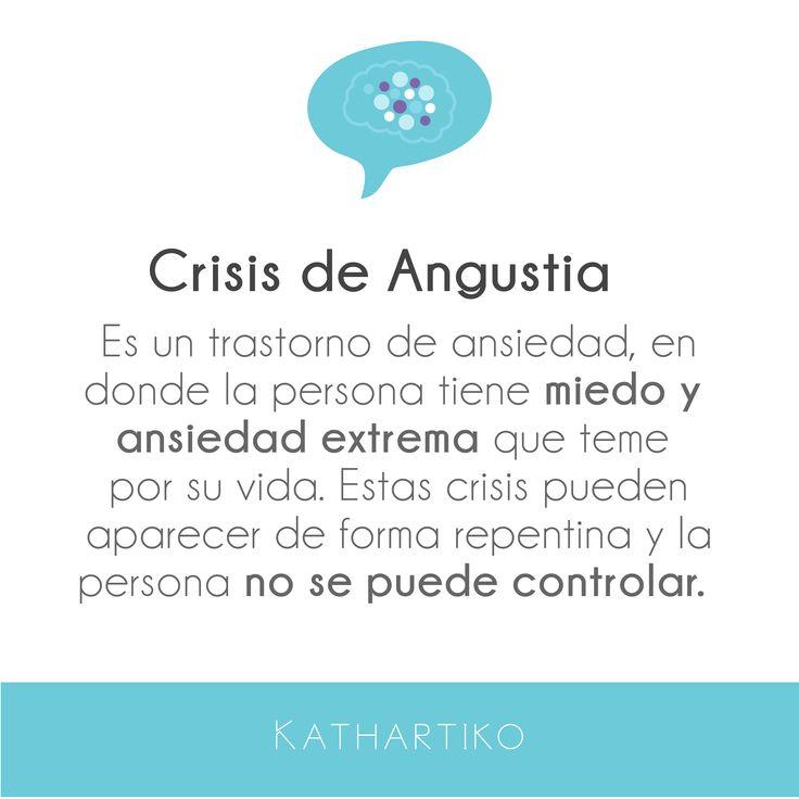 Hoy en #aprendiendo conoceremos la definición de las conocidas #crisis de angustia o crisis de pánico, este es un trastorno de ansiedad extrema donde la persona no se puede controlar y tiene un miedo intenso a morir.