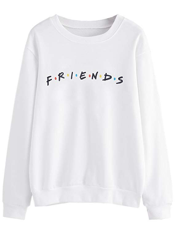 ae809bd3 MISSACTIVER Women's Sweatshirt Letter Print Lightweight Pullover Top ...