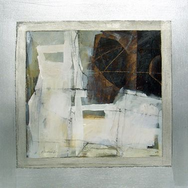KATHERINE CHANG LIU Paper Window #1 2008, mixed media 18 x 18 inches