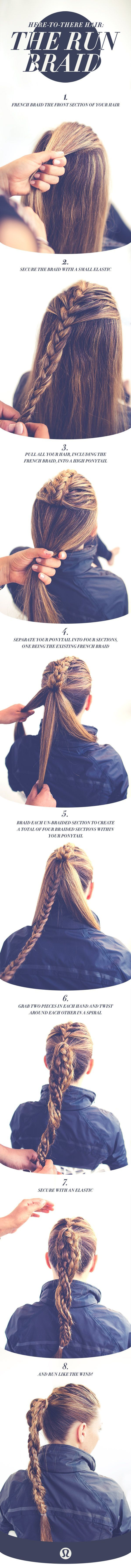 The amazing 'Run Braid' insctructions