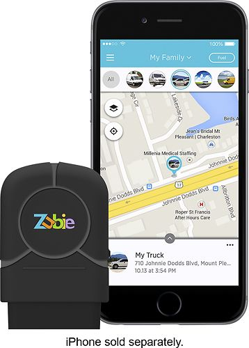 Popular on Best Buy : Zubie - In-Car Wi-Fi and Vehicle Monitoring Device - Black