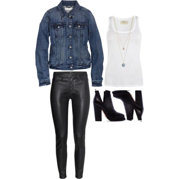 A fashion look from September 2014 featuring AllSaints tops, H&M jackets and H&M pants. Browse and shop related looks.