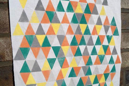 Farbige Dreiecke