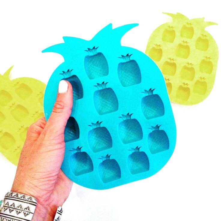 Pineapple Ice Cube Trays