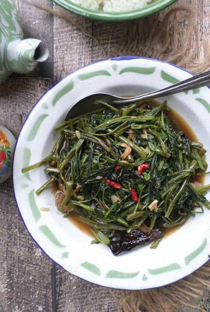 Resep Masakan Indonesia: RESEP TUMIS KANGKUNG