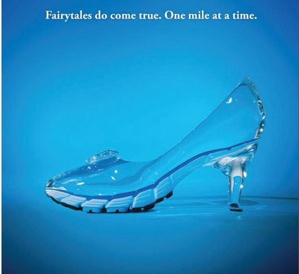 My type of Glass Slipper! Because Iam a runDisney princess! #princessintraining #gsc2016