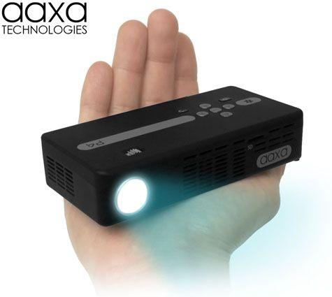 AAXA P4 Pico Projector - DLP Hand-held Mini Projector - LED Pocket Projector