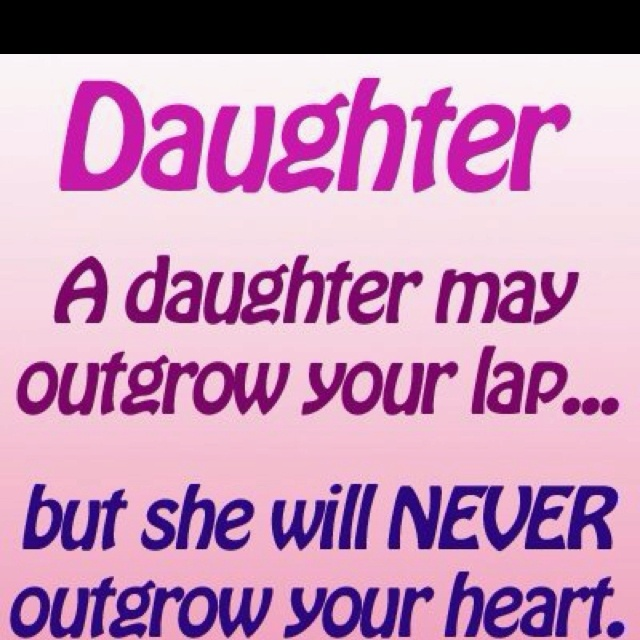 For my daughter, my very first heartbeat <3