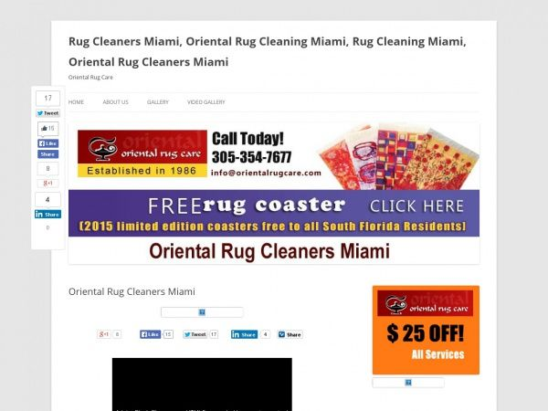 Oriental Rug Cleaners Miami