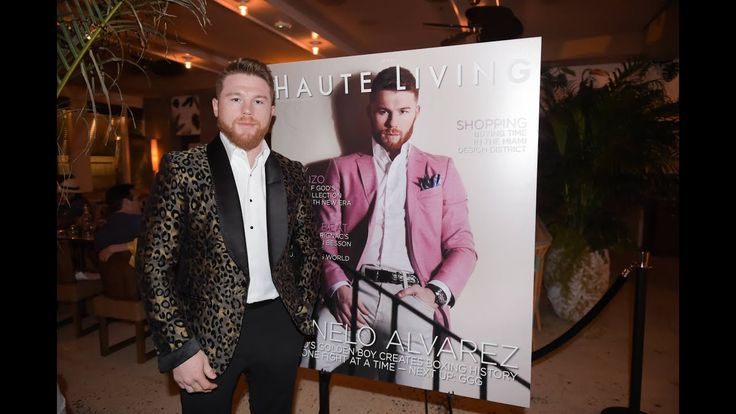 Inside Haute Living's Cover Party with Canelo Alvarez At Marion With Fra...