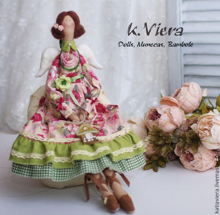 Купить Тильда Ангел домашнего уюта - тильда, кукла ручной работы, кукла Тильда ♡