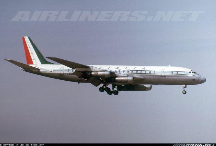 Douglas DC-8-43 - Alitalia | Aviation Photo #1185613 | Airliners.net