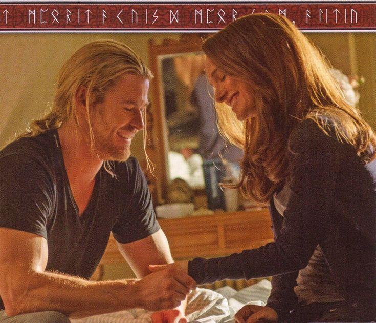 Natalie Portman and Chris Hemsworth (Jane Foster & Thor) - Imgur