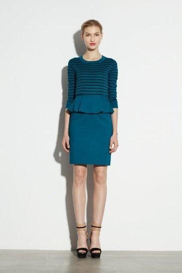 DKNY dress w/ peplum