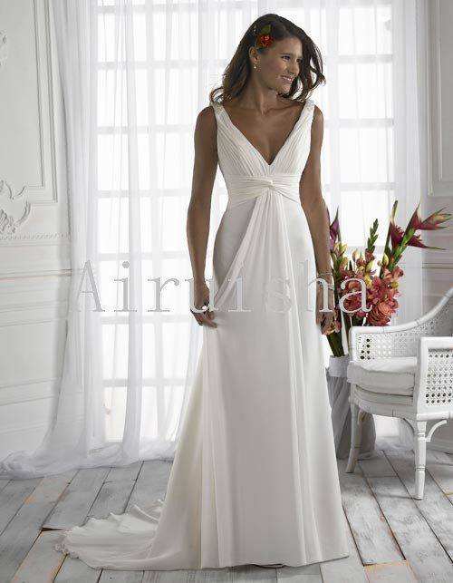 Hey, I found this really awesome Etsy listing at http://www.etsy.com/listing/129721169/sexy-v-neck-casual-silk-chiffon-wedding